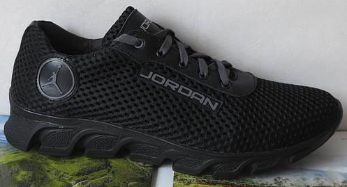 933f4cc3 Jordan! летние черные мужские спортивные кроссовки сетка кожа реплика:  продажа, цена в Киеве. кроссовки, кеды повседневные от