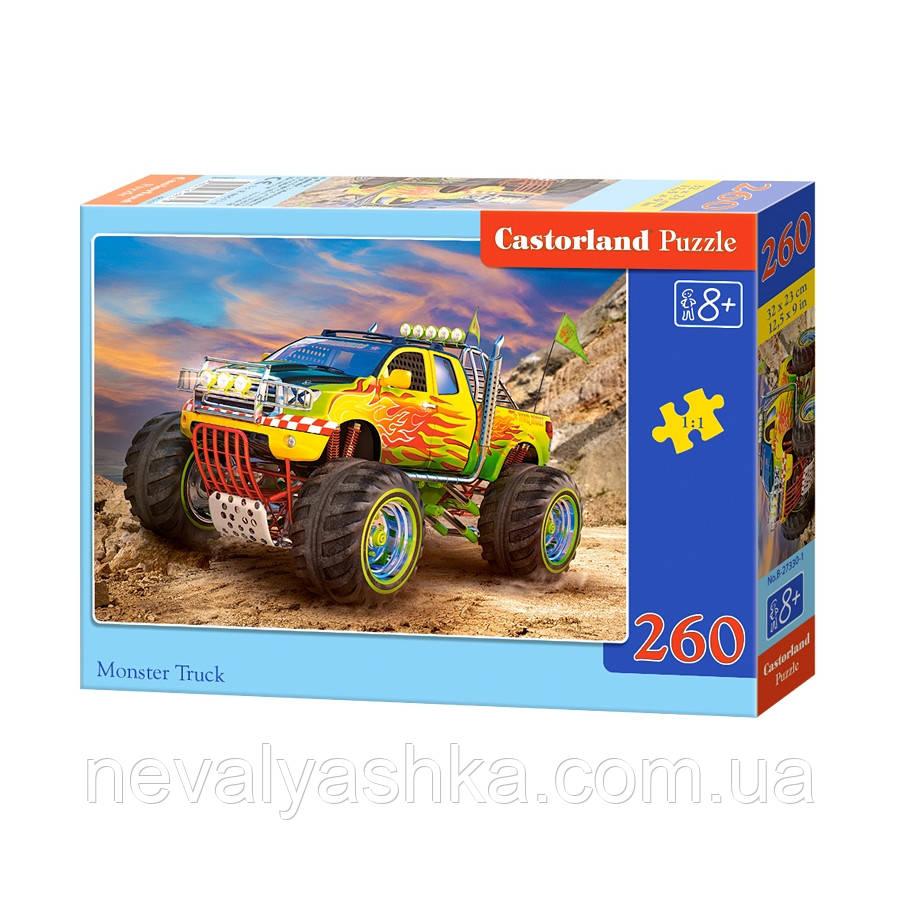 Пазл Castorland Monster Truck 260 эл., B2-27330, 006254