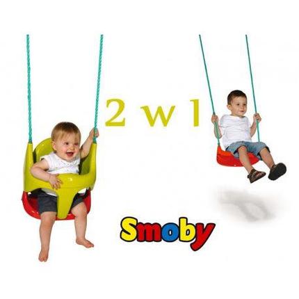 Качель детская подвесная 2 в 1 Smoby 310194, фото 2