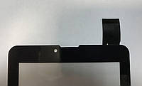 """Тачскрин № 5 для 7"""",30 pin, с маркировкой HS1275 V106pg/TEXET NaviPad TM-7049/706,черный"""