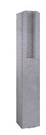 Столб для еврозабора 1 секционный 1,2м