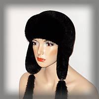 Женская шапка-ушанка, фото 1
