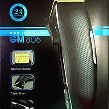 Машинка для стрижки Gemei gm-806, фото 3