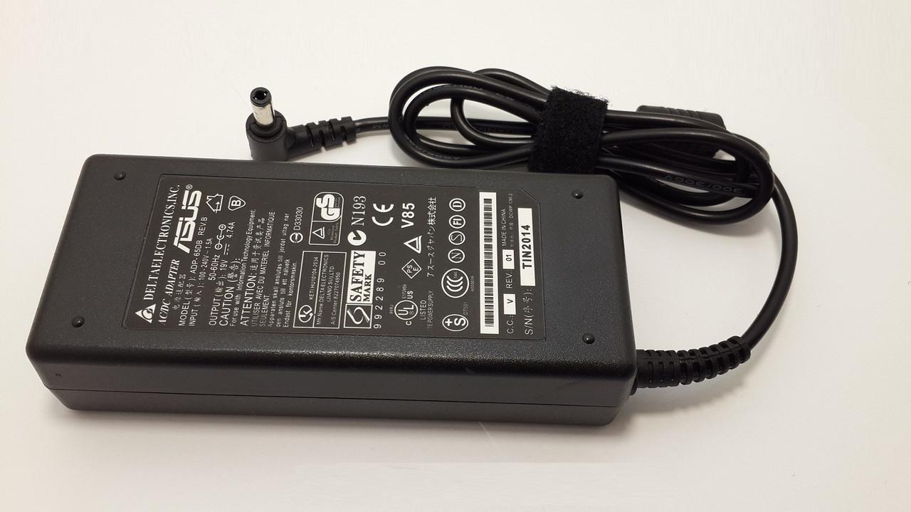 Блок питания для ноутбука Asus N73jf 19V 4.74A 5.5*2.5mm 90W(High Quality)