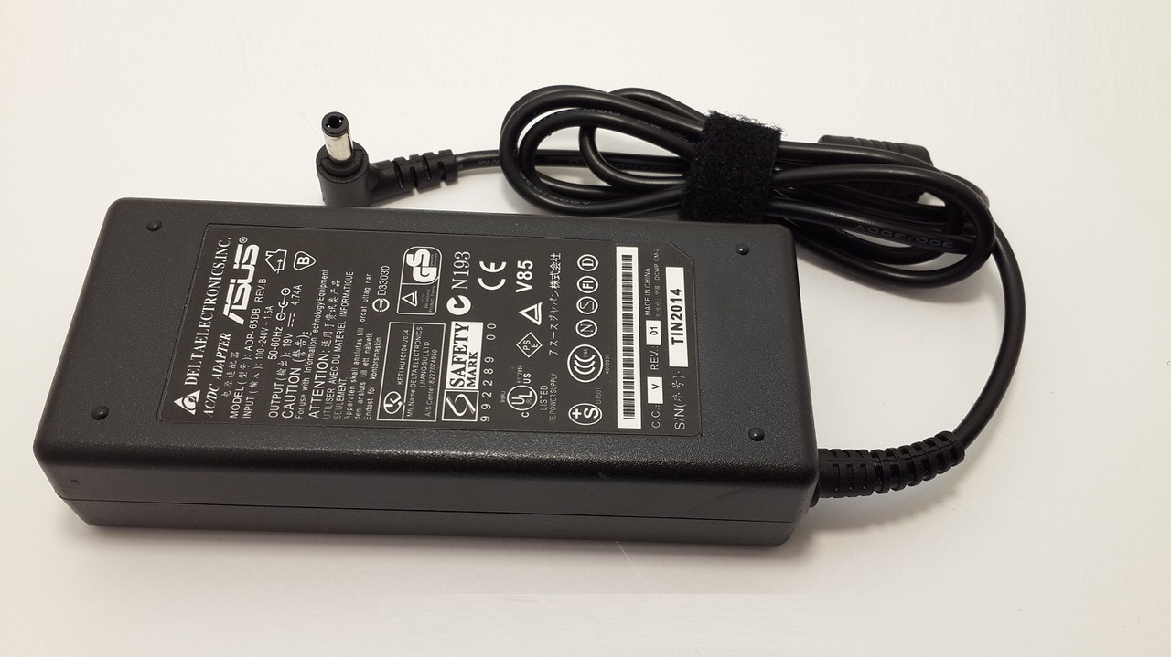 Блок питания для ноутбука Asus PRO 52JU 19V 4.74A 5.5*2.5mm 90W(High Quality)