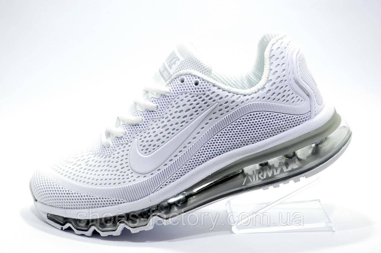 Кроссовки женские в стиле Nike Air Max More, White