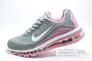 Кроссовки женские Nike Air Max More, Gray\White\Pink