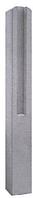 Столб для еврозабора 2х-секционный 1,7м