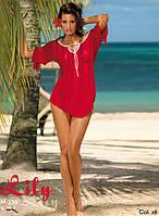 Женственная пляжная туника Marko M 339 LILY. Разные цвета