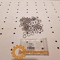 Шайба (кольцо) алюминиевая 8x14x1,5, фото 1