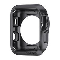 Чехол Spigen для Apple Watch Slim Armor (42mm) Space Gray (059CS22563)