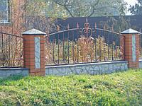 Кованый забор П-1, фото 1