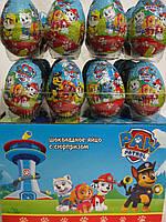 """Шоколадные яйца """"ЩЕНЯЧИЙ ПАТРУЛЬ"""""""