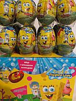 """Шоколадные яйца """"ГУБКА БОБ"""""""