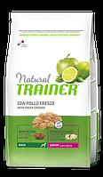 TRAINER NATURAL JUNIOR MAXI – полноценный рацион для щенков крупных пород во второй период роста (до 24 мес.) 3 кг