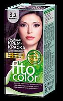 Стойкая крем-краска для волос (цвет баклажан) FITOCOLOR