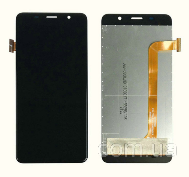 Дисплей (LCD) Bravis S500 Diamond с сенсором чёрный