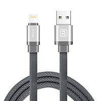 Lightning кабель Canvas RCL-Y100, 1m black Recci CC300172