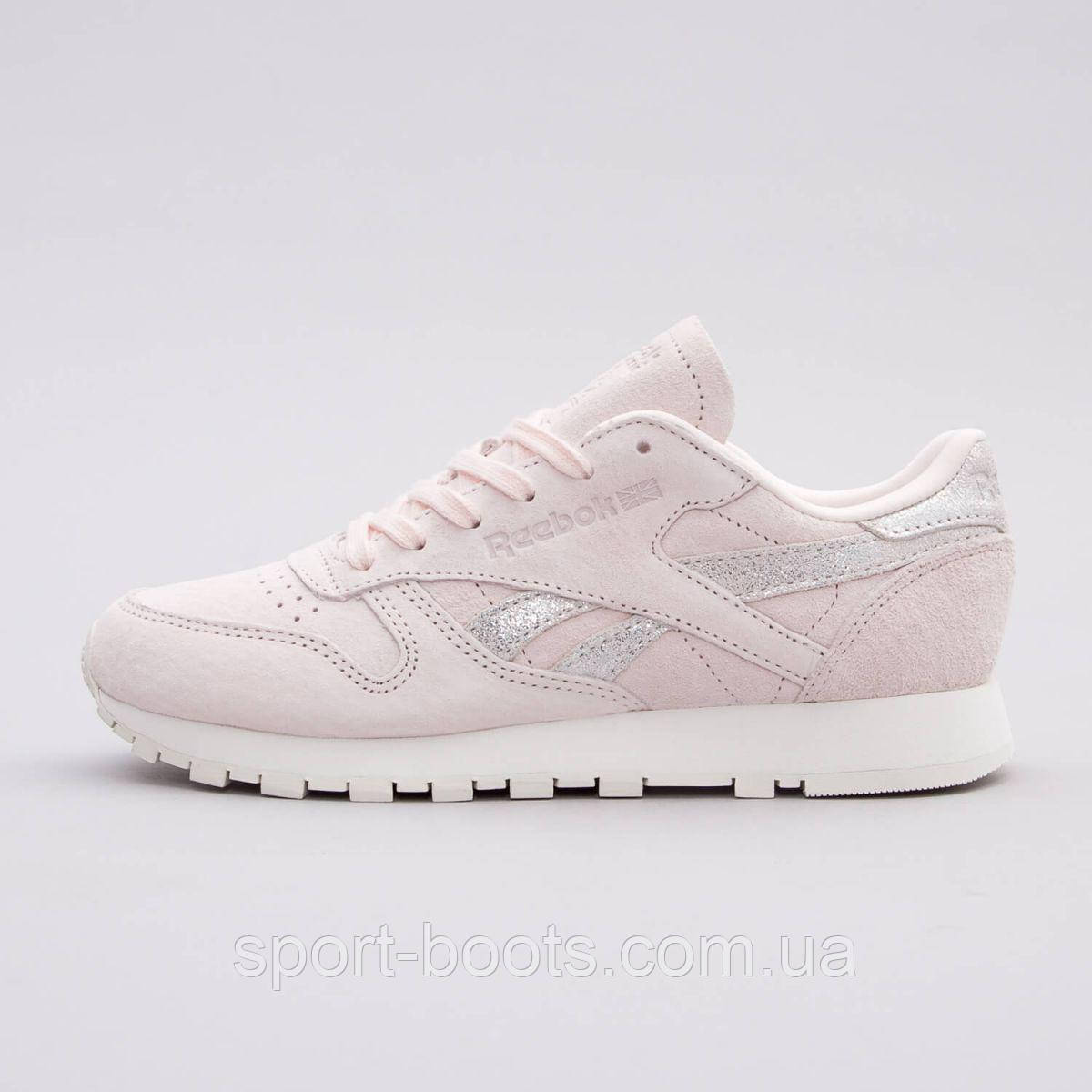 Оригинальные женские кроссовки REEBOK CLASSIC LEATHER SHIMMER ... 3011ae86a20