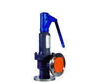 Клапан предохранительный пружинный угловой пропорциональный HSV-F-