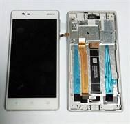 Дисплейный модуль Silver (20NE1SW0001) для смартфона Nokia HMD N3 Type A