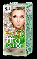 Стойкая крем-краска для волос (цвет пепельный блондин) FITOCOLOR