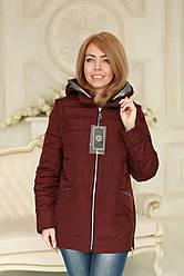Куртка женская модная рукава и капюшон отстегиваются весна - осень