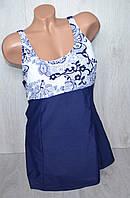 Купальник пляжный женский сдельный увеличенный 52-60 -ассортимент и цвета
