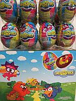 """Шоколадные яйца """"СМЕШАРИКИ"""""""