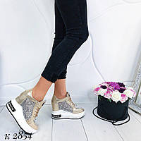 Женские кроссовки на платформе сетка в расцветках