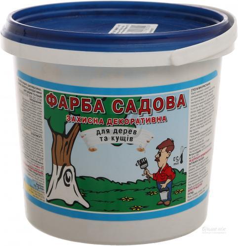 Краска садовая 4 кг