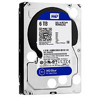 Жесткий диск 3.5' 6Tb Western Digital Blue, SATA3, 64Mb, 5400 rpm (WD60EZRZ)