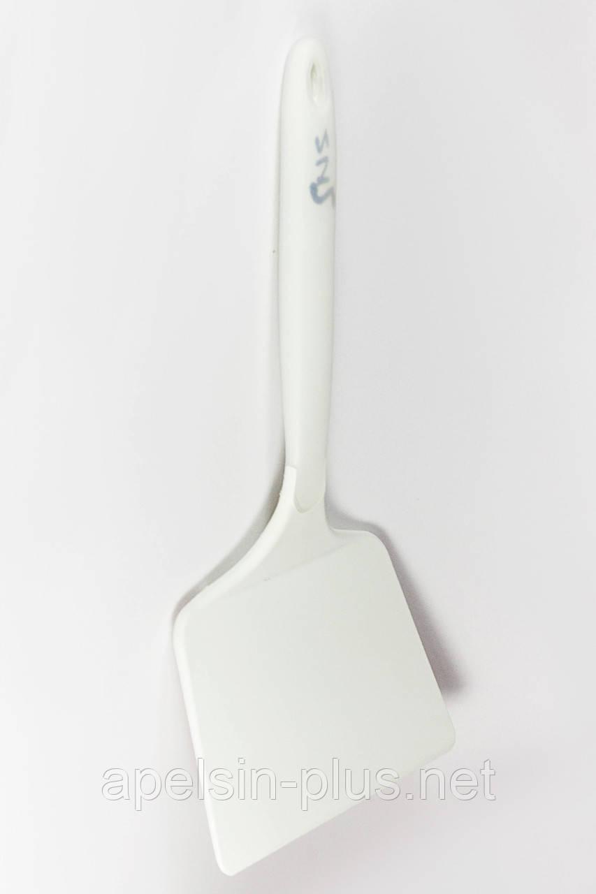 Термостойкая кондитерская лопатка широкая