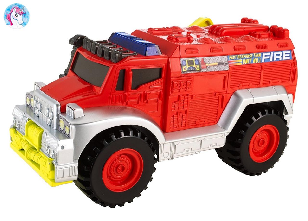 Большая пожарная машина Matchbox со световыми и звуковыми эффектами Fire Truck