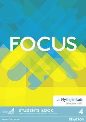 Учебник Focus 4 Student's Book with MyEnglishLab, фото 2