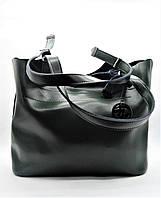 Женская сумка MK из натуральной кожи темно-зеленого цвета WEC-072225, фото 1