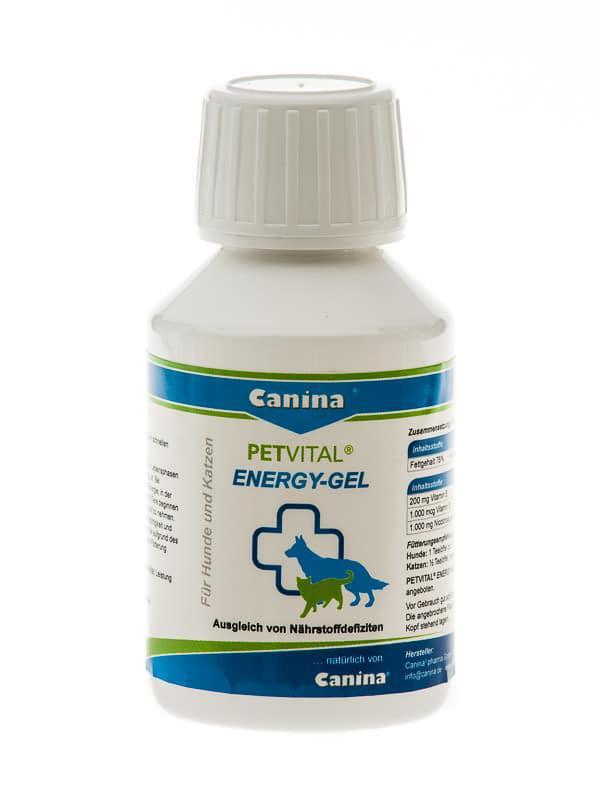 Canina Petvital Energy-Gel, 100мл - высокоэнергетическая добавка для собак и кошек