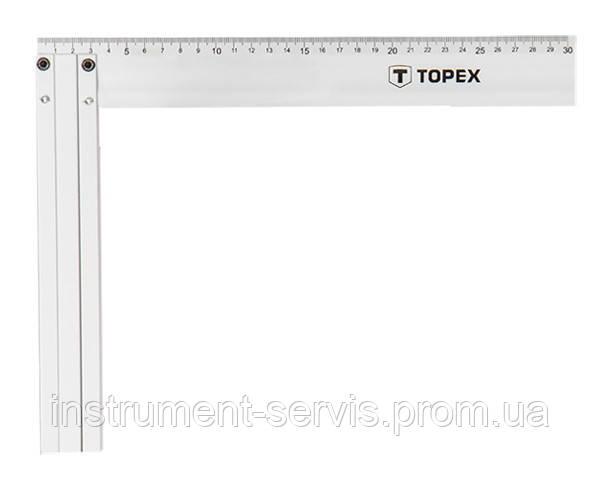 Угольник строительный алюминиевый 350 х 190 мм (TOPEX, 30C364)