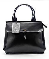 Модная женская сумочка GАLАNTY из натуральной кожи черного цвета MEE-032443, фото 1