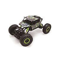 Радиоуправляемая игрушка Rock Crawler Джип на р/у 1:18, 4x4, Зеленый (SUN0156)