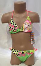 Яркий купальник для детей,идет на наши 34,36,38,40 размеры, фото 3