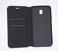 Чехол-книжка для смартфона Samsung J7 2017 J730 чёрная MKA, фото 1