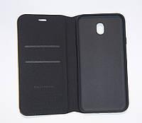 Чехол-книжка для смартфона Samsung J7 2017 J730 чёрная