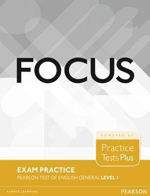 Focus Exam Practice: Pearson Tests of English General Level 1, фото 2