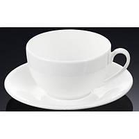 Чашка фарфоровая для кофе+блюдце WILMAX WL-993002 100 мл