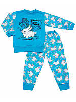 Пижама для мальчика легкая Зайчик