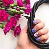 Колье плетеное люриксом Orny черное, фото 2