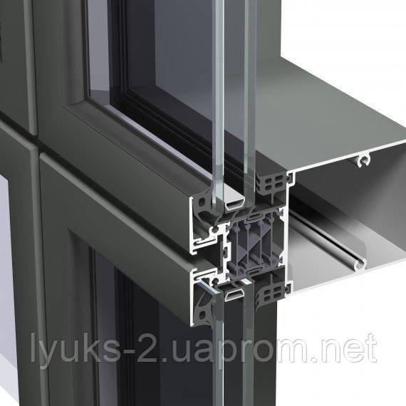 Система для остекления фасадов Reynaers CW 86