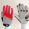 Велоперчатки GIANT целый палец (L) сер/красные , фото 5