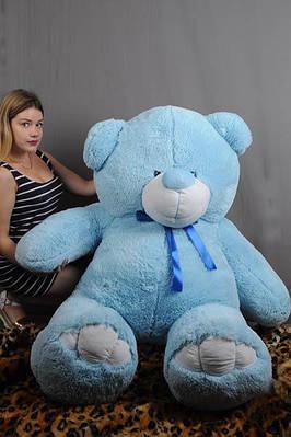 """Плюшевый мишка """"Вэтли"""", голубой, 200 см."""